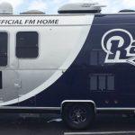 trailer wrap, trailer graphics, trailer decals, Rams trailer