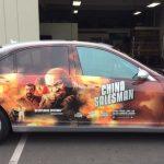 car wrap, partial wrap, promotional wrap, promo wrap, vehicle decals, vehicle graphics