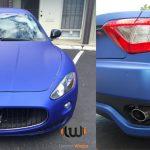 car wraps, vehicle wraps, color change wrap, custom wraps, Maserati wrap