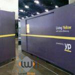 shipping container wrap, container wrap, container graphics