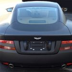 car wraps, vehicle wraps, color change wrap, custom wraps, matte black, aston martin