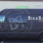 van wrap, matte black wrap, sprinter wrap, van graphics