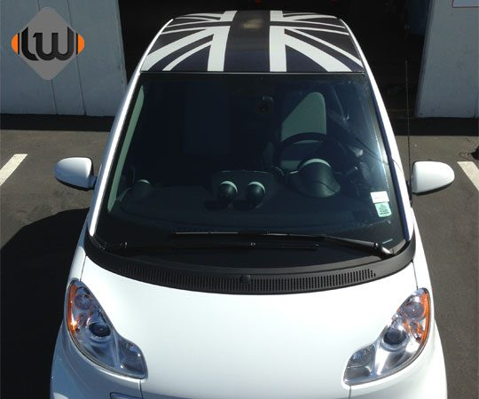 car wraps, vehicle wraps, color change wrap, custom wraps, roof wrap