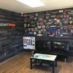 wall wrap, wall mural, wall graphics, office wall wrap