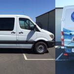 van wrap, partial wrap, partial van wrap, vehicle decals, fleet graphics