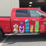 vehicle graphics, vehicle wraps, car wraps