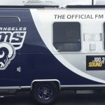 trailer wrap, trailer graphics, trailer decals, Rams trailer wrap