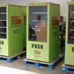 vending machine wraps, vending machine graphics, vending machine decals