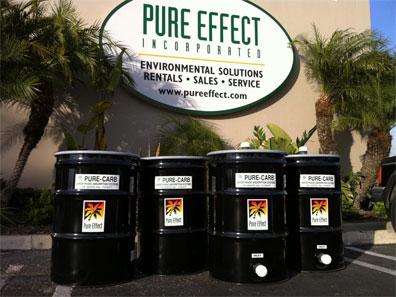 55–Gallon Drum Adsorbers - Anaheim