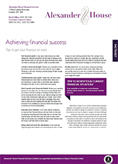 achieving-financial-success