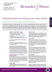 influencing-factors-to-managing-your-future-wealth