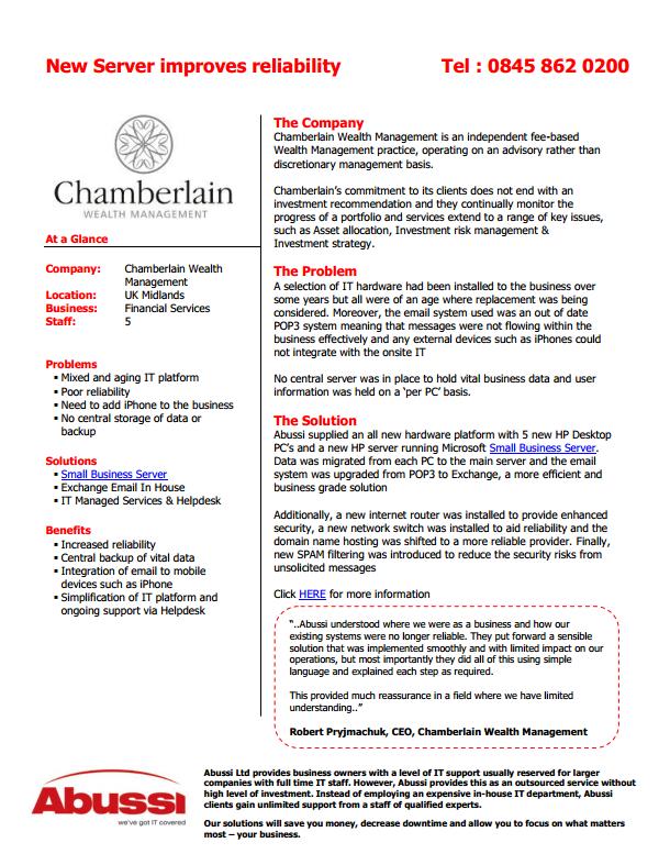 Chamberlain_studies