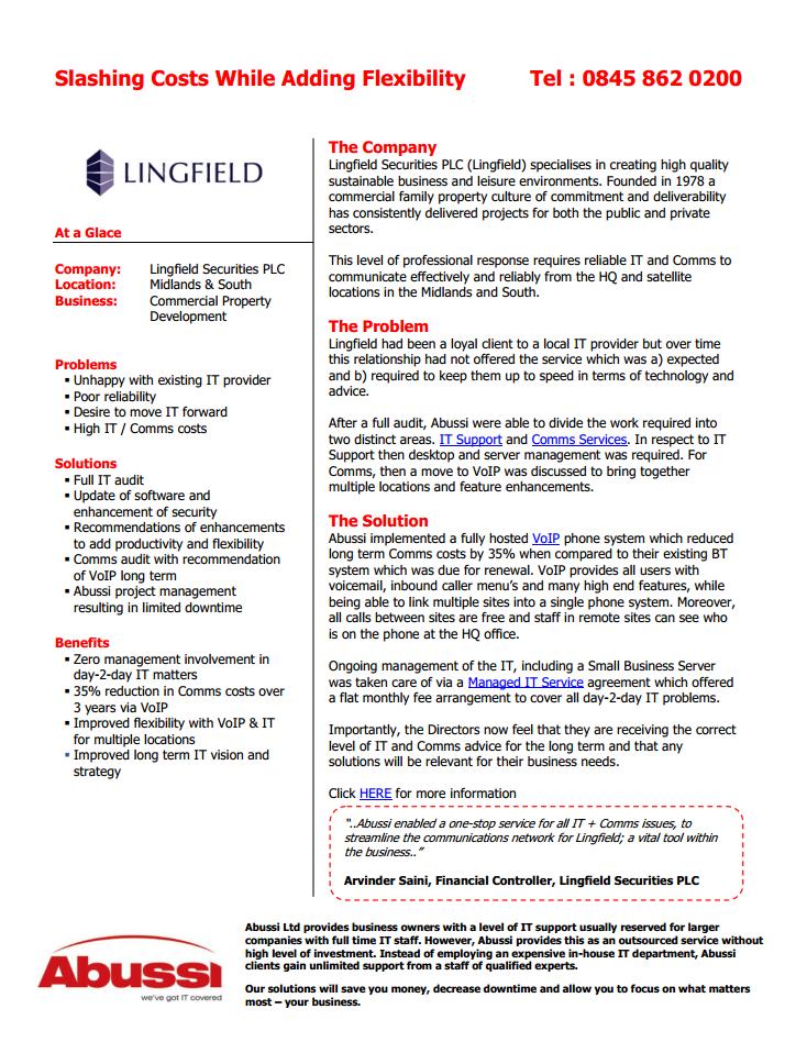 lingfield_studies