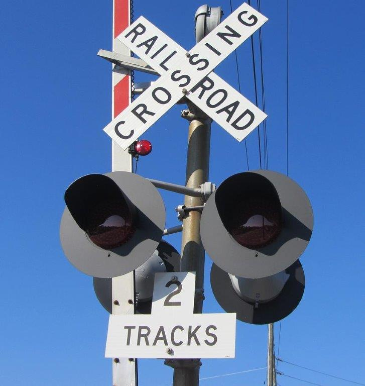 signals signage and lightheads - lights and crossbuck