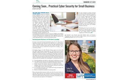 Coming Soon... Practical Cyber Security for Small Business