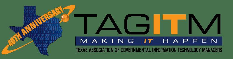 TAGITM 40th anniversary logo