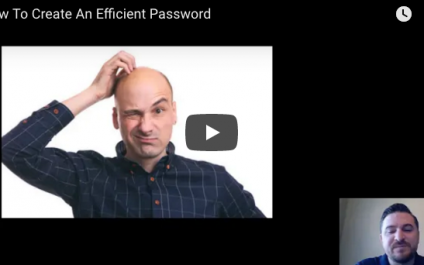 Passwords: A How-To #TechTip