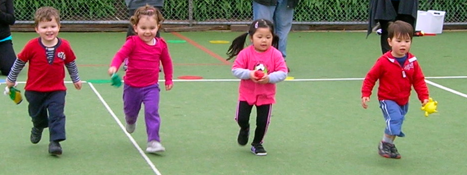 Sports Program fod Preschoolers in Melbourne, Whitehorse, Manningham, Templestowe, Doncaster East, Balwyn North Box Hill, Rowville and Vermont South