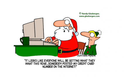Cyber thieves love the holidays