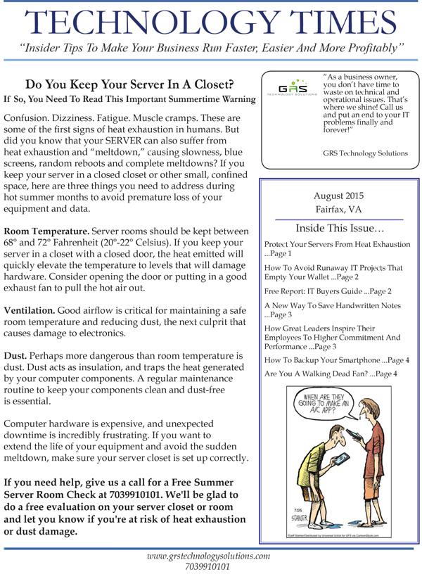 GRS-Technology-Solutions_August_2015_Newsletter-1