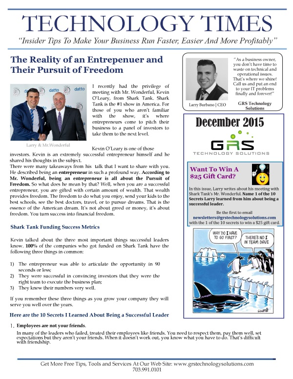 newsletter grs technology solutions