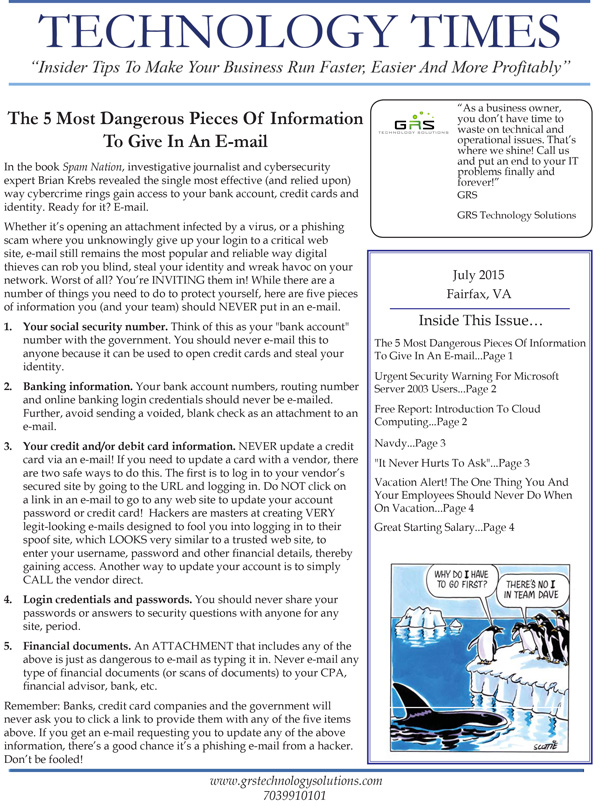 GRS-Technology-Solutions_July_2015_Newsletter-1