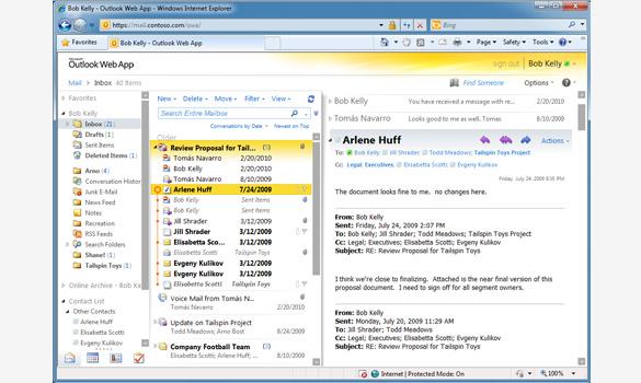 Microsoft Exchange Online - Boston, Worcester, Manchester