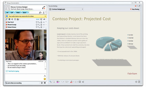 Microsoft Lync Online - Boston, Worcester, Manchester