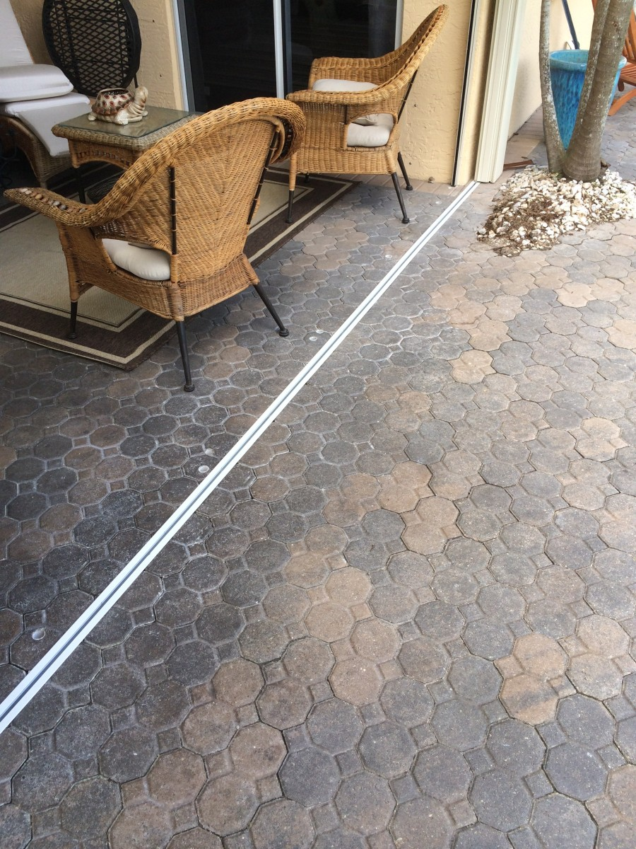 GSP 3recessed track in pavers