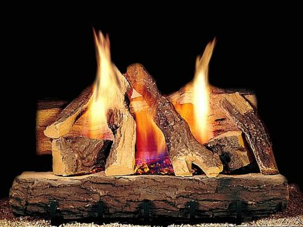 Fireside grand oak gas logs