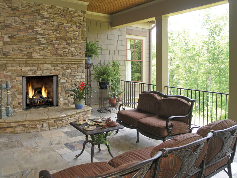 Gas Fireplaces - Outdoor