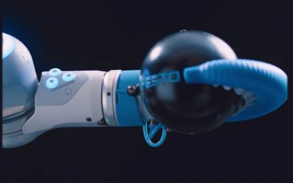 Shiny New Gadget Of The Month: OctoGripper, the Octopus-Inspired Robotic Arm, Is Here
