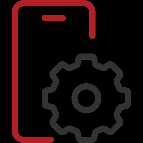 Cloud law management software, app integration icon