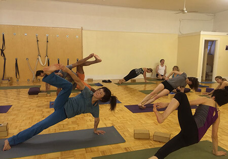 drop-in yoga class