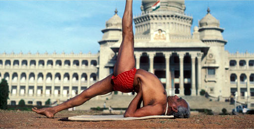 the invention of yoga
