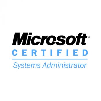 Microsoft Certified Systems Administrator (MCSA)