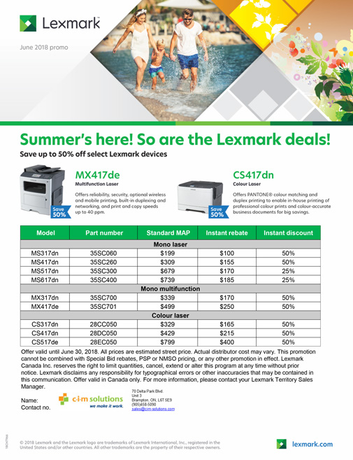 CIM-Lexmark-June-2018-Promos